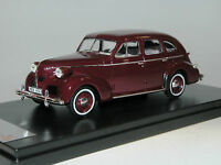 Premium X Models PRD436, Volvo PV60, 1947, maroon red, 1/43