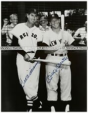 Vintage, Extremely RARE Mickey Mantle & Ted Williams signed Large Photograph