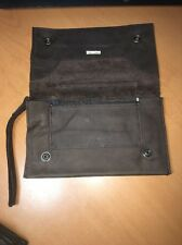 Tracey Tanner Brown Leather Wristlet Pre-owned