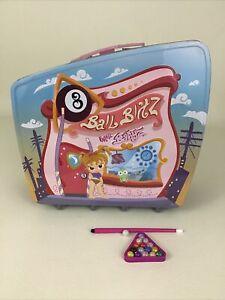 Bratz Babyz 8 Ball Blitz Playset Lunch Box Pool Hall Carry Along Billiards MGA