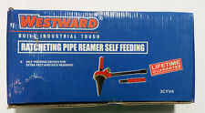 "Westward Spiral Ratcheting Pipe Reamer Self Feeding up to 2"" NEW IN BOX"
