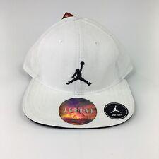 Nike Air Jordan Snapback Hat 6A1417-001 Jumpman White Black Infant 12-24 Mo NWT