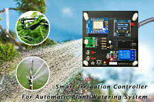 Auto WiFi Irrigation Sprinkler Controller + soil moisture monitor & records