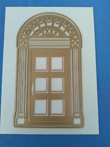 Anna Griffin Classic Christmas Holiday Door Die Card Making