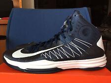 New Nike Zoom Hyperdunk 2012 Mens Sz 17.5 NAVY 524882 800 Basketball Shoes RARE!
