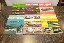 COMPLETE ROAD & TRACK MAGAZINE JANUARY-DECEMBER 1974 (OAK9677-1 LOC.DDD #475)