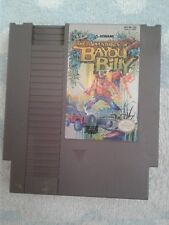 Vintage Game - The Adventures of Bayou Billy (Nintendo NES, 1989) TESTED!(10410)