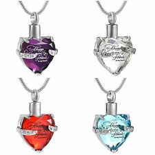 Urn Necklace Cremation Jewellery Ashes Pendant Locket  Memorial Human Pet Dog
