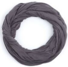 AMERICAN APPAREL Unisex Super Soft Sheer Circle Scarf Infinity 'SeeThru Asphalt'