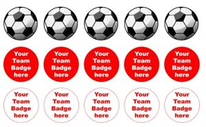 """24 or 15 2"""" or 1.5"""" Manchester utd cupcake tops toppers edible wafer icing sheet"""