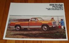 Original 1976 Dodge Truck Pickup Sales Brochure D100 200 300 W100 200 300 600