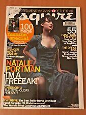 ESQUIRE Sep 2004 - UK - Natalie Portman, Ricky Gervais Office USA, Chernobyl!
