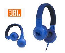Brand new JBL E35 Wired headphones / e-35 headset with mic JBLE35BLU (Blue)