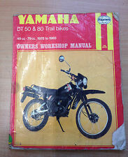 Yamaha DT50 and 80 Trail Bikes Owner's Workshop Manual by Chris Rogers...