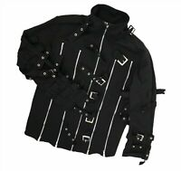 Women`s DEAD THREADS jacket with straps and zippers Black Size M