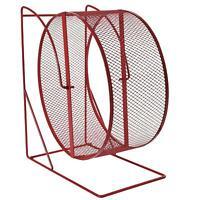 Trixie Exercise Wheel 22cm for Degus, Hamsters, Rats - Freestanding - Mesh Metal