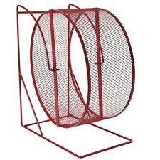 Trixie Exercise Wheel 28cm for Degus, Hamsters, Rats - Freestanding - Mesh Metal