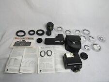 ASAHI PENTAX AUTO 110 SLR LOT W/LENSES, FILTERS, FLASH, & CASES, BAG