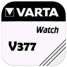1x Varta 377 V377 Uhren-Batterie Knopfzelle SR66 SR626 AG4 VARTA Silberoxid