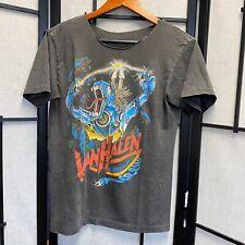 RARE! 80's Van Halen Promo T-Shirt Band Rock Tour Vintage Metal Monster E1