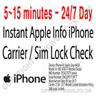 Apple iPhone Carrier Network Check imei SIM Lock Status Find My iPhone mini GSX