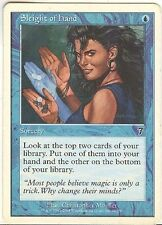 SLEIGHT of HAND X1   MAGIC Mtg  7TH EDITION MODERATELY PLAYED RT CORNER CRIMP