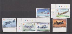 1995 50th Kiribati Anniversary of end second Aircraft world war MNH Set (2981)