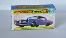 Repro Box Matchbox Superfast Nr.22 Pontiac Coupe
