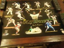 """Kings Of Speed 16X20""""Photo Signed By 8 Speeders MAJOR LEAGUE & MAB HOLOGRAMS"""