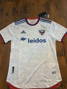 DC United Jersey Medium New White Away