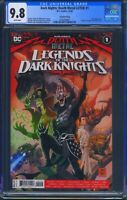 Dark Nights Death Metal Legends of the Dark Knights 1 CGC 9.8 Robin King 2nd Prt