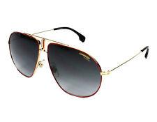 2b248312469e1 Novo Autêntico Carrera Bound AU29O Vermelho Dourado Óculos de Sol Gradiente  Cinz.