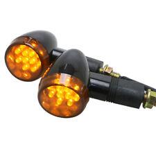 Black Bullet Style LED Turn Signal Indicator Light Honda CBR CB 600 1000 RR