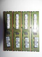HP 497157-D01 Samsung M378B5673FH0-CH9 2GBx4 PC3-10600U DDR3 SDRAM 8gb Kit