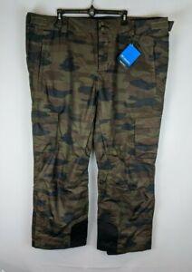 Columbia Ridge 2 Run III Ski Pants, Camo Print, Men's XXL