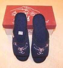 Pantoufles bleu neuves taille 38 marque La Maison de l'Espadrille étiqueté à 22€