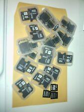 mini sd card lot 1GB  10 PACK
