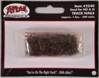 500 TRACK NAILS HO N SCALE ATLAS 2540 TRAIN TRACKS LAYOUT