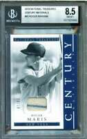 Roger Maris Card 2018 Panini National Treasures Century Materials #42 BGS 8.5