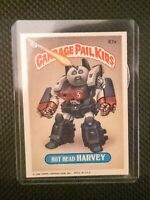 1986 Garbage Pail Kids Hot Head Harvey -Copyright on Front- Series 3