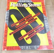 Rolling Stone Magazine #333/334 Dec 80 Jan 81 Double issue year in music