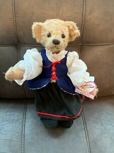 Little Red Riding Hood Teddy Bear by Annette Funicello Collectible Bear Co.