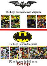 LEGO Batman Magazine Ausgabe inkl. Zubehör - Wählen sie ihre Ausgabe!