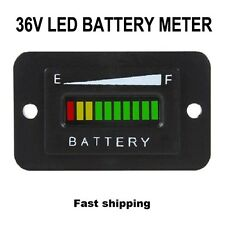36V Volt BATTERY INDICATOR METER GAUGE for EZGO Club Car Yamaha Golf Cart Car
