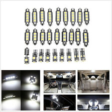 27Pcs White Car Interior LED Light Kit For Mercedes Benz E class W211(2002-2008)