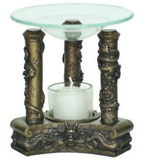 Chinese Dragons Scented Fragrance Oil Candle Warmer Burner - O-156B
