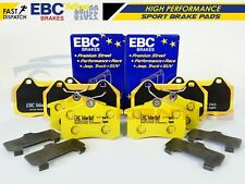 FOR CLIO 2.0 RS 197 MK3 FRONT REAR EBC YELLOW STUFF HIGH PERFORMANCE BRAKE PADS