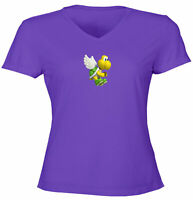Juniors Girl Women Tee T-Shirt Gift Print Cartoon Cute Turtle Koopa Troopa Mario