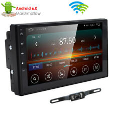 """7""""2DIN Android 6.0 Car Stereo Quad Core 3G WIFI GPS Nav No DVD Player Auto Radio"""