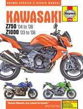 Haynes Manual De 4762 Kawasaki Z750 & Z1000 (03 - 08) - Taller/Servicio/Reparación